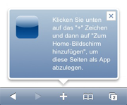 Mobile Version des Entwicklerblogs