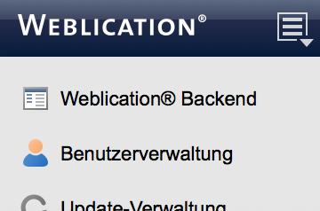 Aus der Dateiverwaltung direkt ins Backend wechseln